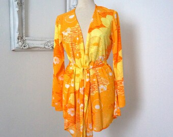 Vintage Cole of California Beach Coverup Robe