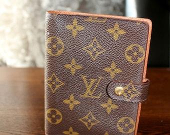 Authentic Louis Vuitton Monogram Agenda PM