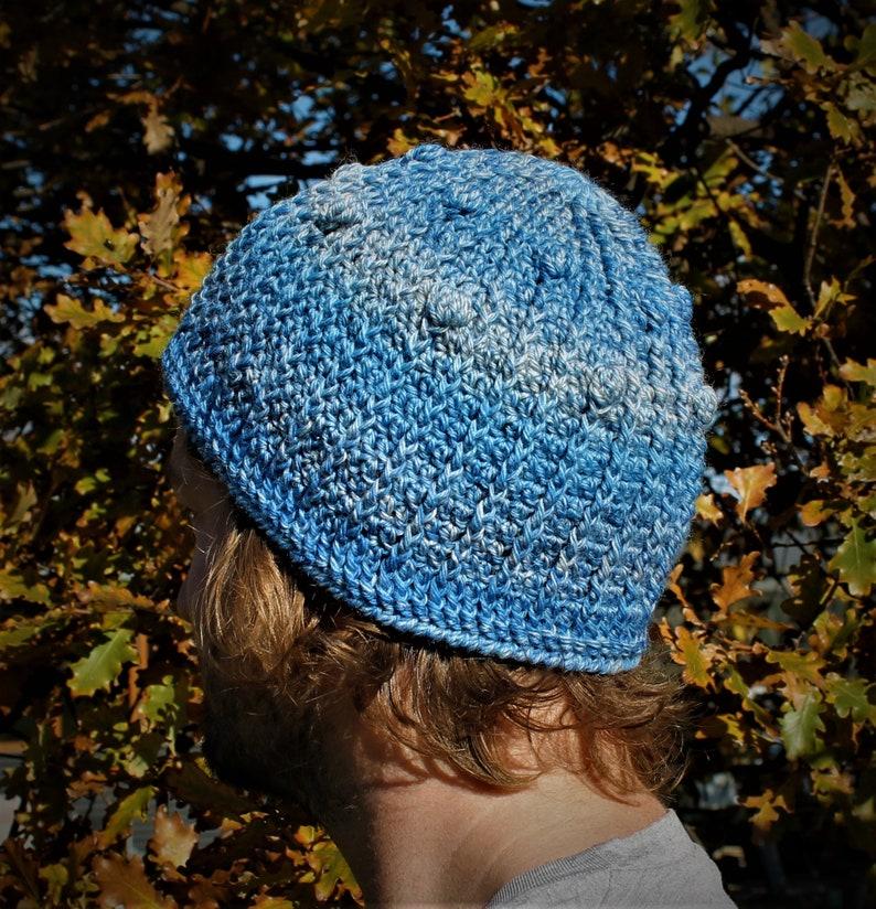 Crochet Pattern  Bobbly Beanie. image 0
