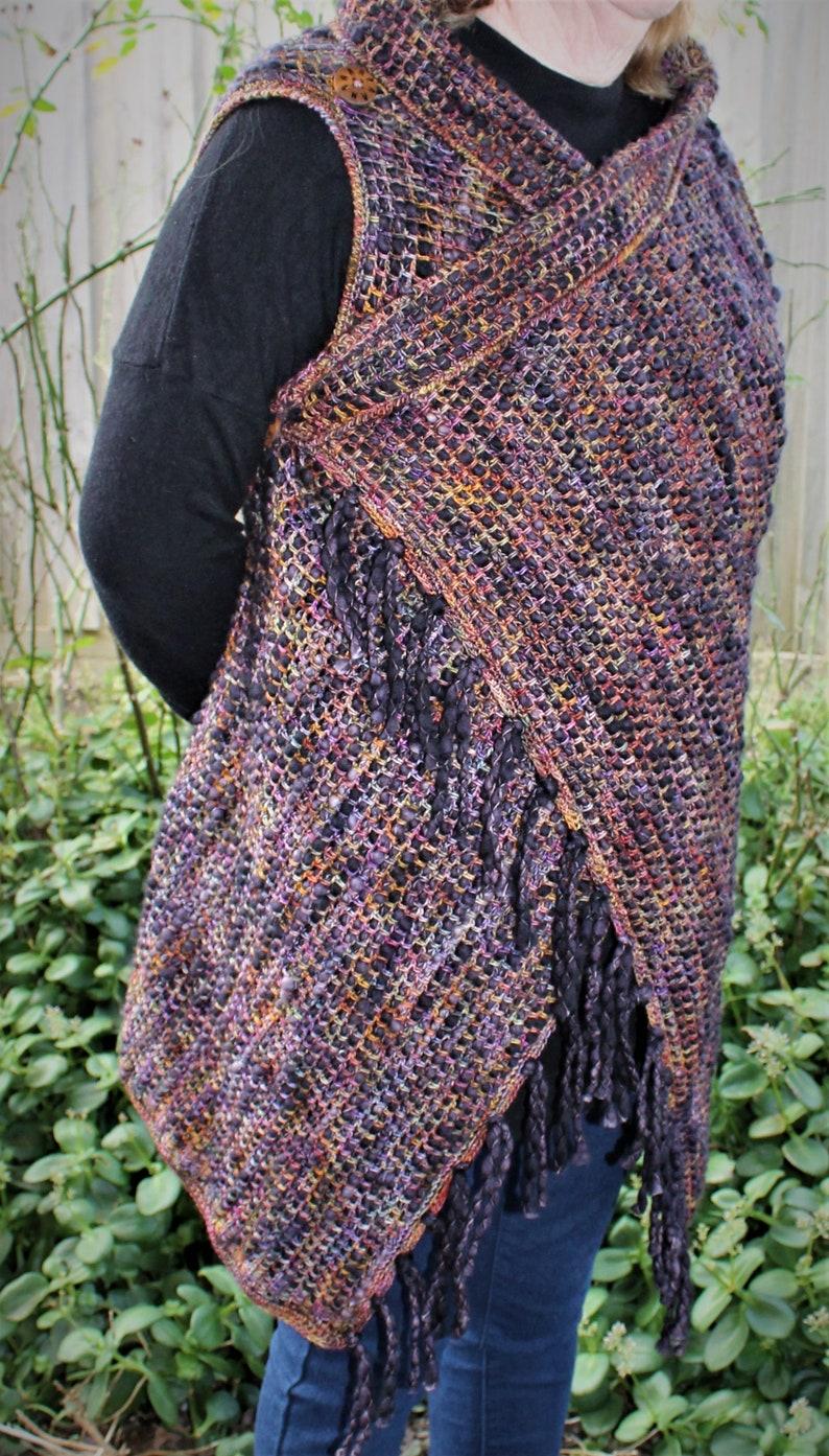 Crochet Pattern Cobblestone Vest image 0