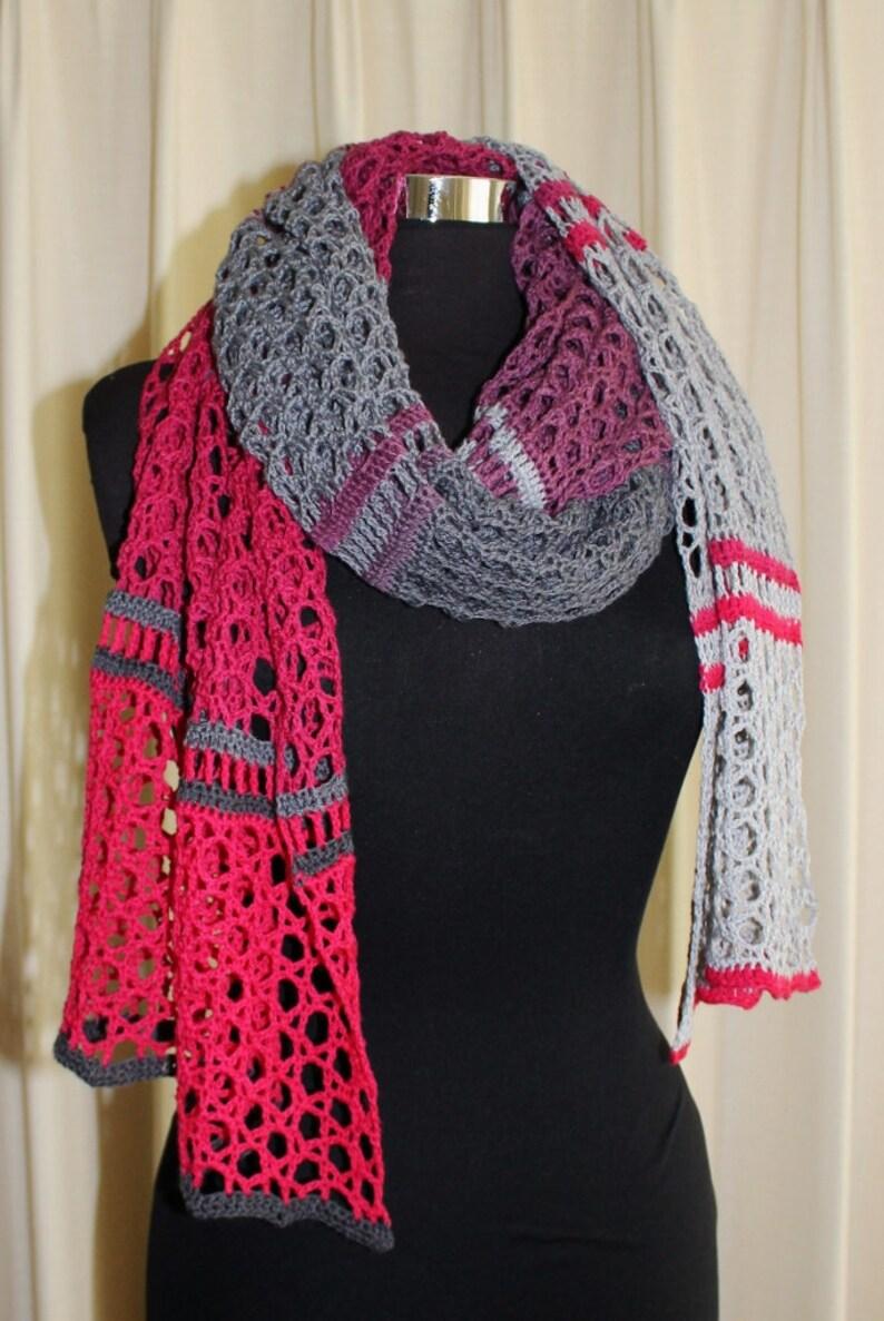 Crochet Pattern  Dreamtime Shawl image 0