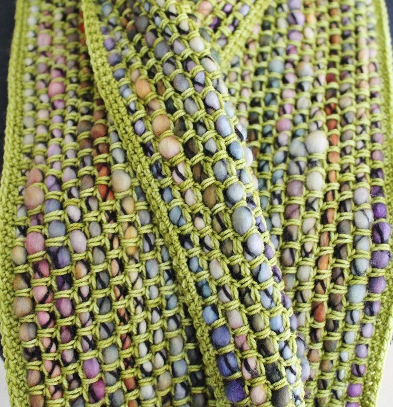 Crochet Pattern Cobblestone cowl image 0