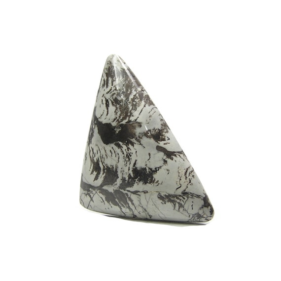 Smithsonite Translucent Triangle Gemstone Cabochon hand polished Handcrafted