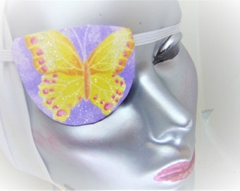 Woman/'s  CONVEX eye patch BUTTERFLY health /& beauty eye care vision aid cataract aid blind eye aid stylish