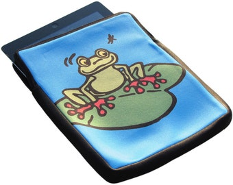 Frog iPad 1, 2 and 3 Neoprene Zippered Case - 50% Off iPad Case Sale