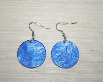 Earrings with real shells LZ-18-0128