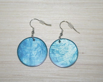 Earrings with real shells LZ-18-0122