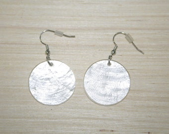 Earrings with real shells LZ-18-0123