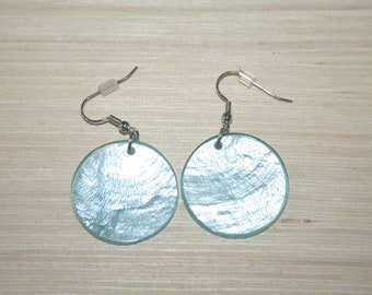 Earrings with real shells LZ-18-0127