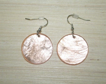 Earrings with real shells LZ-18-0130