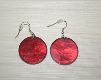 Earrings with real shells LZ-18-0129