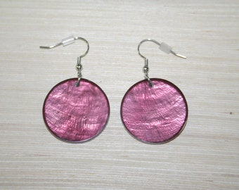 Earrings with real shells LZ-18-0126