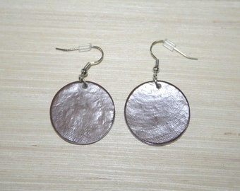 Earrings with real shells LZ-18-0132