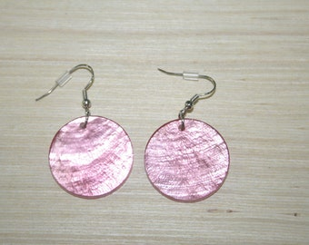 Earrings with real shells LZ-18-0124