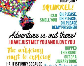 Pixar quotes   Etsy