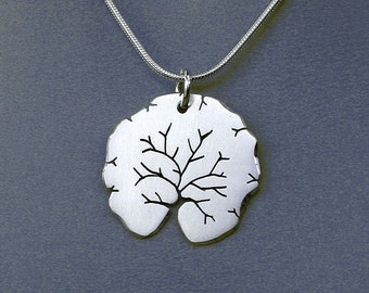 "Silver Jewelry, ""Summer Tree Pendant"", Silver Jewellery."