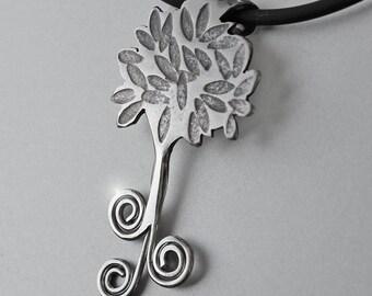 Silver Spiral Jewellery