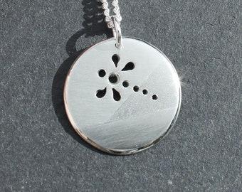 Silver Jewelry, Silver Jewellery, Silver Pendant, Dragonfly Pendant, Pendant, Dragonfly Jewelry.
