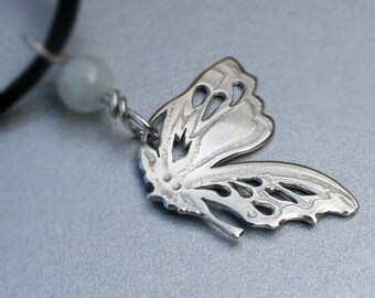 Butterfly Pendant, Silver Jewelry, Silver Jewellery, Silver Pendant, Silver Butterfly Jewelry.