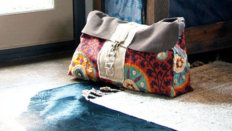 79dfa6f0f395 The Inez Weekender Yoga Mat Large Travel Bag Carry on