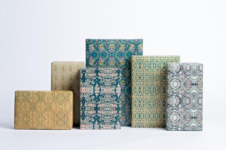 Textile Design Gift Wrap image 0