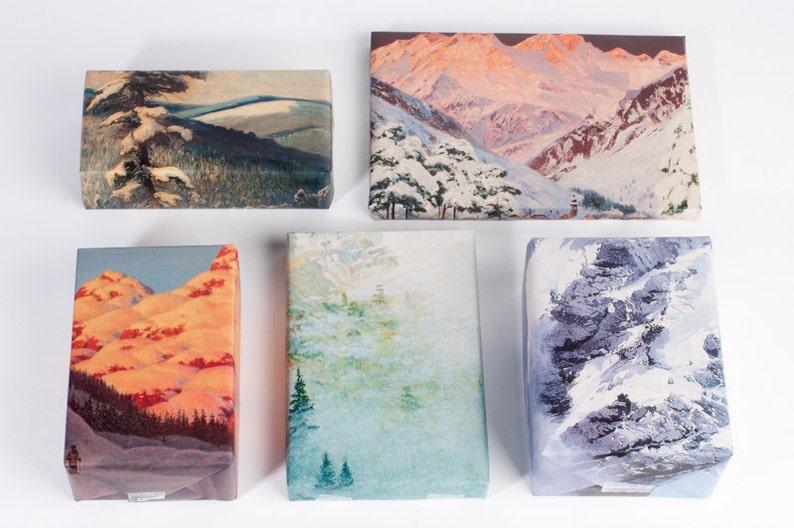 Mountain Range Wrapping Paper image 0