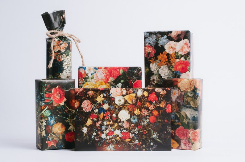 Dutch Still Life Wrapping Paper image 0