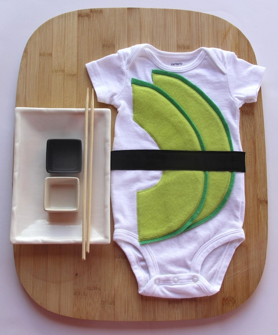 Avocado Baby Sushi Costume