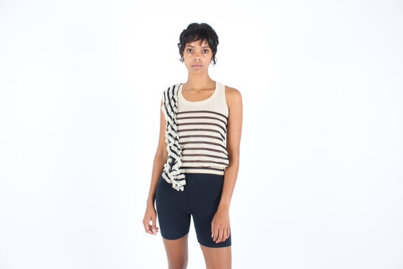 Y2K Jean Paul GAULTIER Iconic Sailor Striped Print