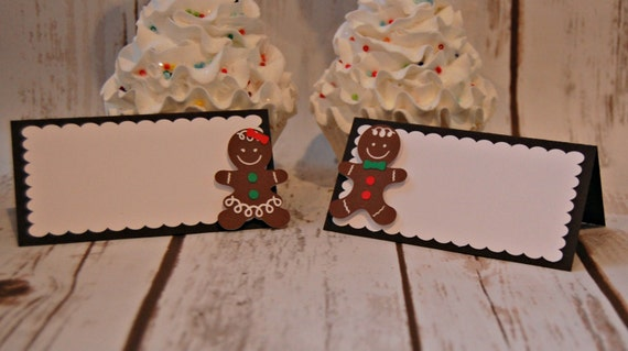 Wondrous Gingerbread Party Food Buffet Name Tags Christmas Party Download Free Architecture Designs Terstmadebymaigaardcom
