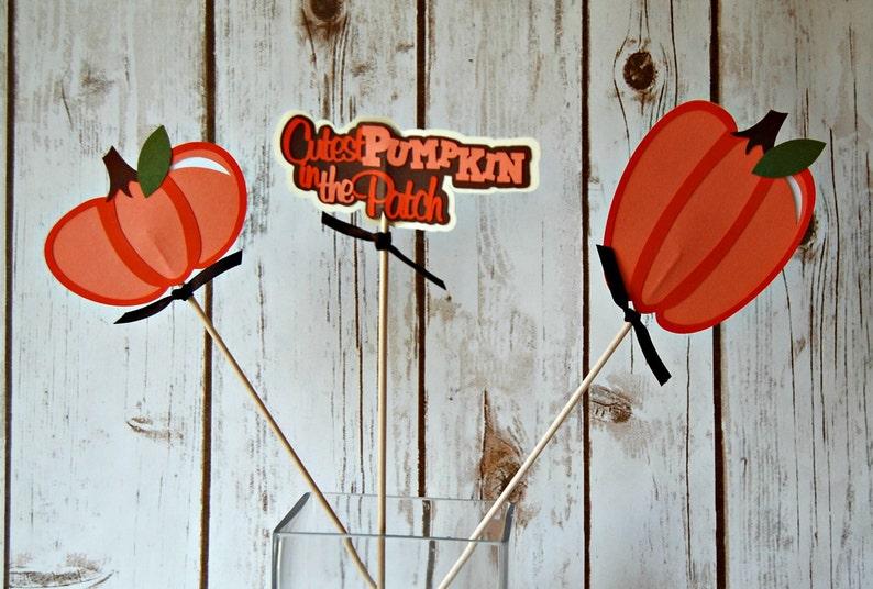 Pumpkin Centerpiece Set