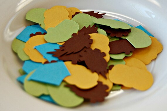 Camping Theme Birthday Party Confetti Campout Party