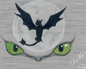 Print - The Alpha - Toothless