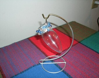 Candle Flame Bulb on Wire Stand