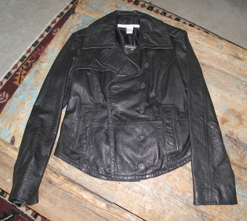 Women's Trench Styled Double Breasted Vintage Jacket image 0