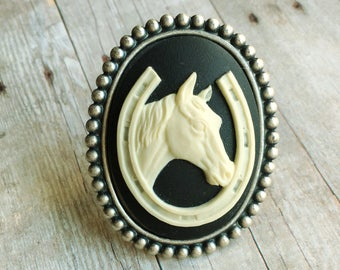 Horse Ring Equestrian Jewelry