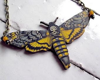 Death's Head Moth Necklace