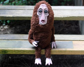 Stuffed posable plush Wisebeast