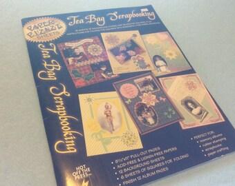 HOTP Tea Bag Scrapbooking Book