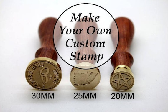 Custom Sealing Wax Stamp Wedding Invitation Birthday Wax Seal Kit Good Luck Wax seal Stamp Metal Stamp Personal Wax Seal Stamp