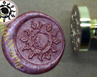 S1010 Sun Wax Seal Stamp , Sealing wax stamp, wax stamp, sealing stamp
