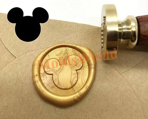 Mickey Mouse Wax Seal Stamp Kit Wedding Invitation Sealing