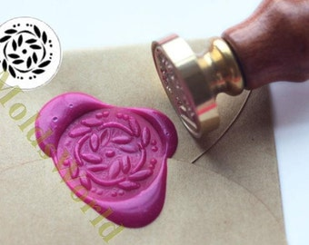 S1343 Flower Wax Seal Stamp , Sealing wax stamp, wax stamp, sealing stamp