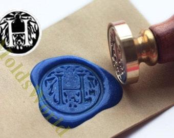 S1261 Letter H Wax Seal Stamp , Sealing wax stamp, wax stamp, sealing stamp