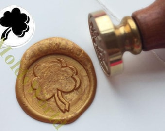 S1327 Shamrock Wax Seal Stamp , Sealing wax stamp, wax stamp, sealing stamp