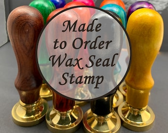 Custom Wax Seal Stamp - Personalized Wedding Invitation Wax Stamp Kit - Custom Sealing Wax Stamp - Wax Sealing Melting Stove Spoon - 20~50mm