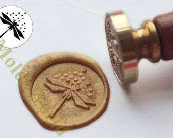 S1239 Dragonfly Wax Seal Stamp , Sealing wax stamp, wax stamp, sealing stamp