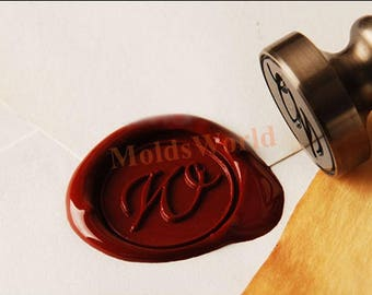 Alphabets A - Z Wax Seal Stamp Calligraphic Cursive initial Sealing Wax Stamp Letter