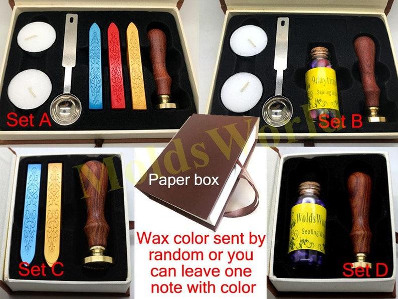 S1218 Wheat Wax Seal Stamp Sealing wax stamp sealing stamp wax stamp