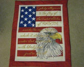 Patriotic Eagle Wallhanging